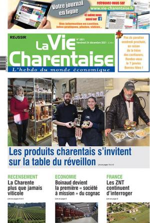 La couverture du journal La Vie Charentaise n°2744 | avril 2020